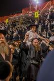 Hillula anual del rabino Shimon Bar Yochai, en Meron 2018 Fotografía de archivo libre de regalías