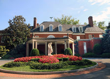Hillwood Estate, Museum & Gardens. Is a decorative arts museum in Washington, D.C Stock Images