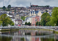 Hilly cork city Stock Photography