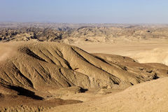 Hilly desert in Central Namibia Royalty Free Stock Image