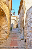 The hilly Eze Royalty Free Stock Images