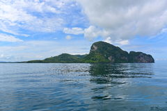 Hilly island at Andaman Sea Stock Photography