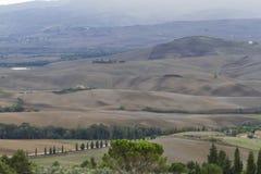 hilly krajobrazu Zdjęcia Stock
