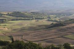 hilly krajobrazu Zdjęcie Stock