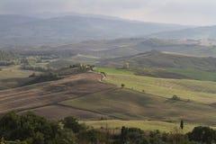 hilly krajobrazu Obrazy Stock