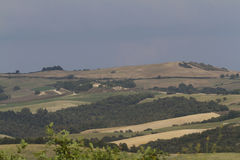 Hilly landscape Royalty Free Stock Photography