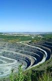 Mining pit stock image
