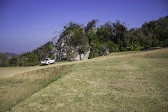 Hilly Landscape Nan, Tailândia Fotografia de Stock Royalty Free