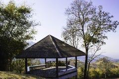 Hilly Landscape Nan, Tailândia Imagem de Stock