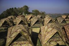 Hilly Landscape Nan, Thaïlande Images libres de droits