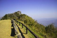 Hilly Landscape Nan, Thaïlande Photos libres de droits