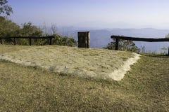 Hilly Landscape Nan Thailand Royaltyfria Bilder