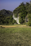 Hilly Landscape Nan Thailand Arkivbild