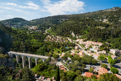Hilly landscape of the south of France Royalty Free Stock Photo