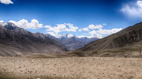 Hilly landscape in the Tajikistan. Pamir Stock Photo