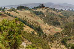 Hilly landscapes of Ethiopia Stock Photography