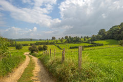 Hilly rural landscape Royalty Free Stock Image
