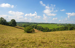 Hilly rural landscape Royalty Free Stock Photography