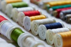 Hilo de coser Imágenes de archivo libres de regalías