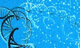 Hilo de la DNA - 2 Foto de archivo libre de regalías