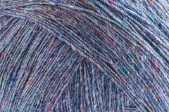 Hilo de lana viejo, fondo Foto de archivo