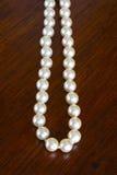 Hilo de perlas foto de archivo