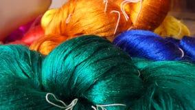 Hilo de seda tailandés Fotografía de archivo libre de regalías