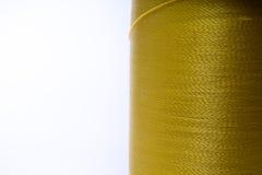 Hilo del amarillo de la mostaza Fotos de archivo
