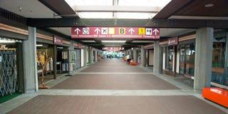 Hilo Internationale Luchthaven op Groot Eiland, Hawaï Stock Foto