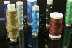 Hilo multicolor Foto de archivo libre de regalías