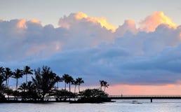 Hilo Sunrise stock image