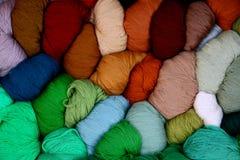Hilos coloreados Imagen de archivo libre de regalías