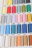 Hilos de coser Imagen de archivo libre de regalías