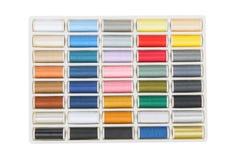Hilos de coser Imágenes de archivo libres de regalías