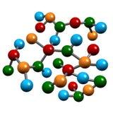 Hilos de la biología de la molécula Fotografía de archivo