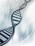 Hilos de la DNA Imagenes de archivo
