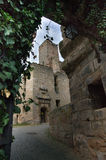 Hilpoltstein-Schloss Stockbild