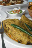 Hilsa or Ilish Mach - A fish Dish from India Stock Images