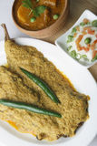 Hilsa or Ilish Mach a Fish Dish from India Royalty Free Stock Photos