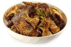 Hilsas ou poissons frits populaires d'Ilish photographie stock libre de droits