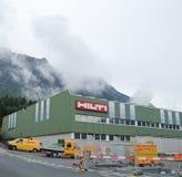 Hilti Firma Lokuje w Liechtenstein zdjęcie royalty free