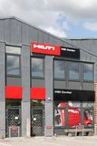 Hilti store center Royalty Free Stock Photo
