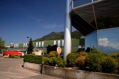 Hilti-tool factory in Lichtenstein. Expedition Hilti products in stock Lichtenteinskom near Vaduz Royalty Free Stock Image