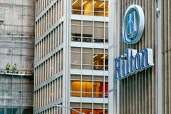 hilton ξενοδοχείο Στοκ Εικόνα