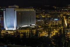 Hilton Athens lizenzfreie stockfotos