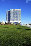 Hilton Bayfront Hotel San Diego. The Hilton Bayfront in San Diego California on a sunny day Royalty Free Stock Image