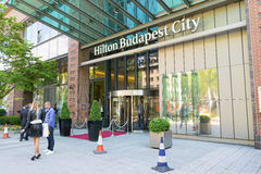 Hilton Budapest Stock Photo