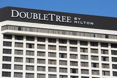 Hilton DoubleTree hotel Royalty Free Stock Images