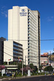 Hilton dwukropek w Quito, Ekwador Obrazy Stock