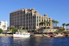 Hilton Eilat drottning av det Sheba hotellet Royaltyfria Bilder